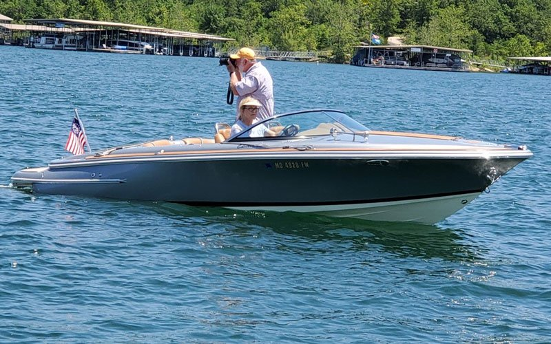 2013 Chris Craft Silver Bullet owned by Forrest and Kally Bryant