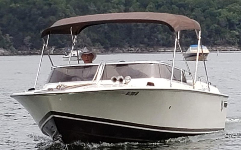 "1973 Chris Craft XK22 named ""Caliente"" owned by Kevin Hogan"