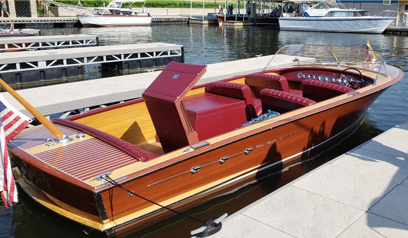 1955 Chris Craft 25' Continental owned by Pack St. Clair