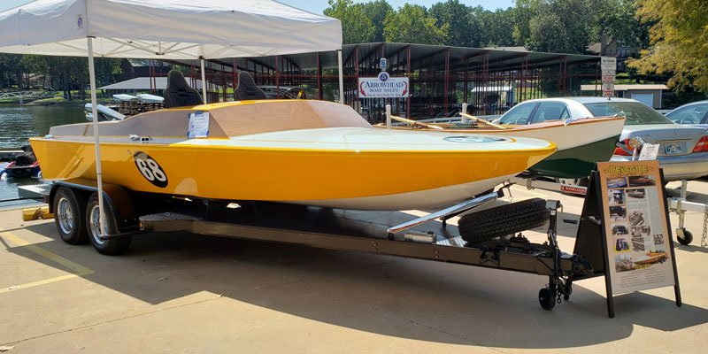 "1967 Campbell 21' Water Ski Racer named ""Renegade"" owned by Pete and Ramona  Seitz"