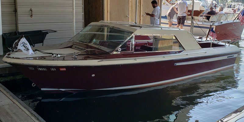 "1974 Century 21' Coronado named ""Eclectic Waves"" owned by Ward and Karen  Brasses"
