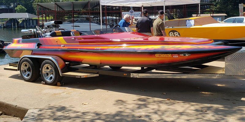 1987 Eliminator 21' Runabout Jet owned by Clay and Patty Thompson
