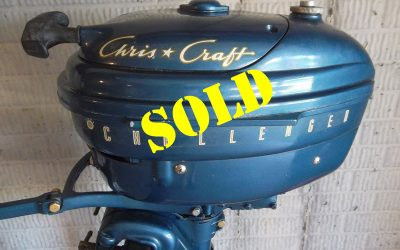 Chris Craft 5.5 hp Challenger Outboard Motor