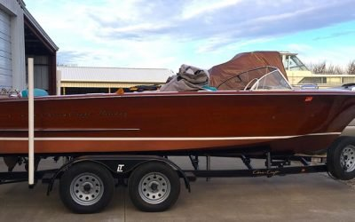 1957 Chris Craft 20′ Holiday