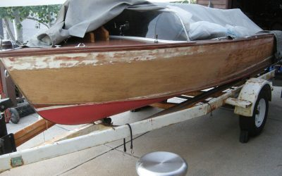 1959 Chris Craft Cavalier Restoration