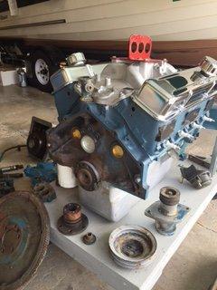 Chris Craft 283 Rebuilt Engine and Gear Box